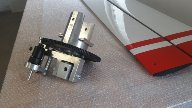 GYROPLANE ROTOR HEAD - Gyro-Tech Composite blades and rotor